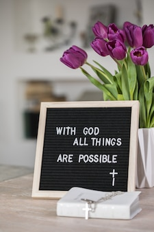 Met god zijn alle dingen mogelijk
