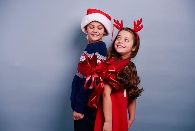 Met kerstmis zullen we het beste kerstcadeau zijn