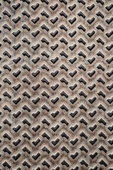 Metaal abstracte grijze vormen als achtergrond