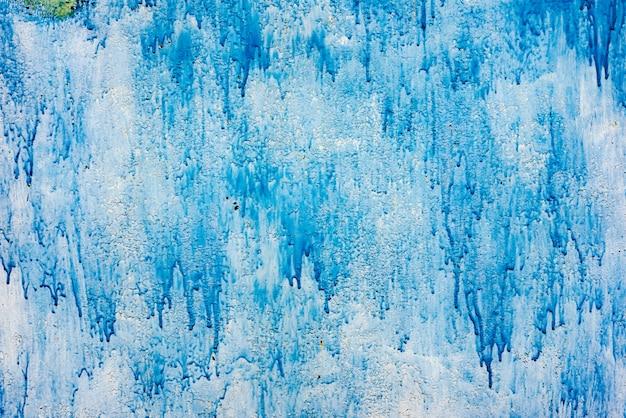 Metaal blauwe grunge oude roestige gekraste oppervlaktetextuur