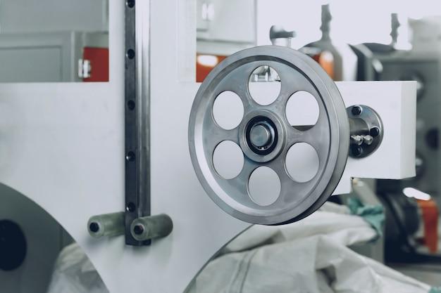Metaalproductieapparatuur in de kabelfabriek