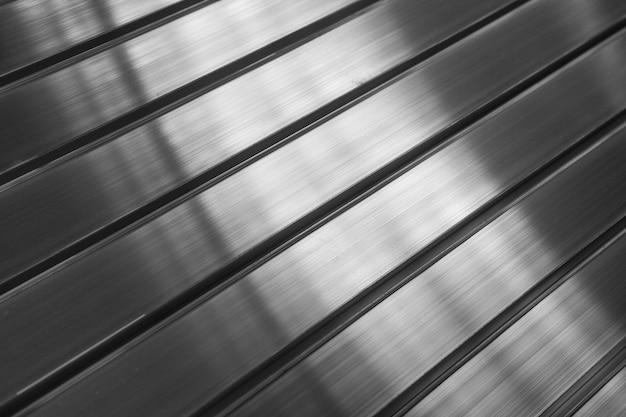 Metalen aluminium profiel close-up als achtergrond
