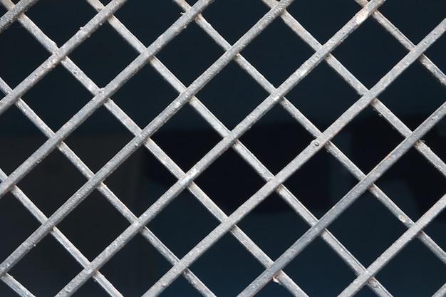 Metalen hek