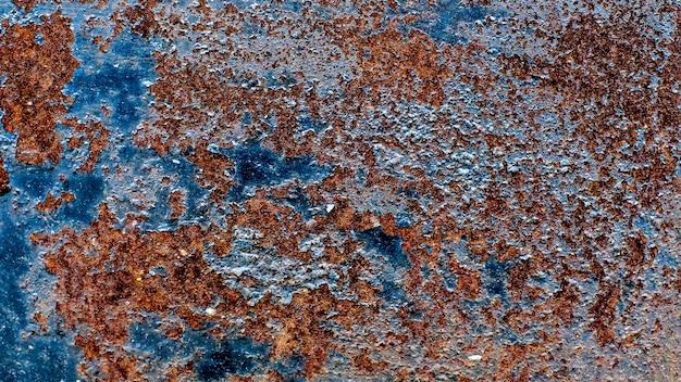 Metalen oppervlak met roesttextuur. achtergrond voor de ontwerper