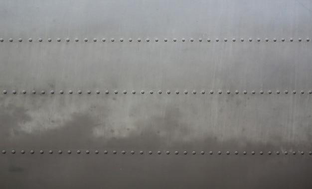 Metalen oppervlak van militaire gepantserde