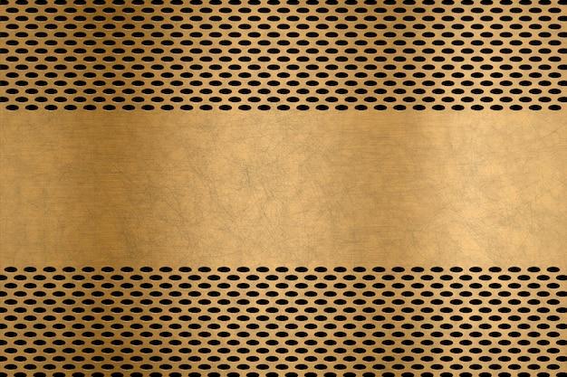 Metalen plaat achtergrondgeluid met metalen scherm