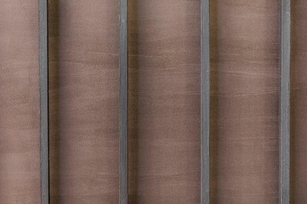 Metalen reling textuur