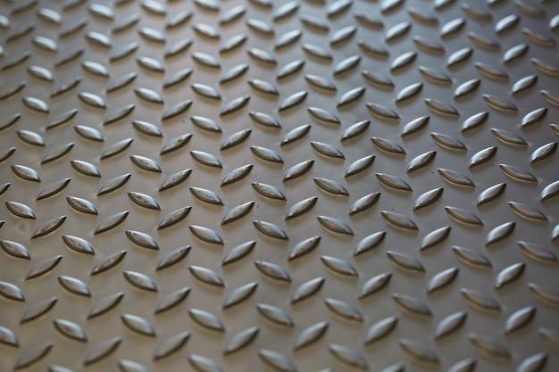 Metalen roestvast stalen textuur verontreinigd staal achtergrond.