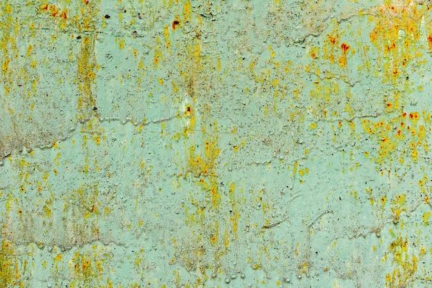 Metalen textuur met krassen en scheuren