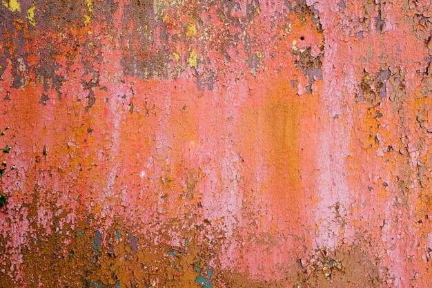 Metalen wand met roest. metaal corrosie. hoge kwaliteit foto