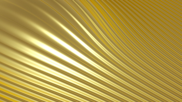 Metallic goudzilver met driedimensionale print