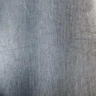 Metallic met krassen en vlekken