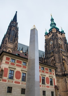 Metropolitan cathedral of saints vitus in praag