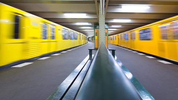 Metrostation berlijn