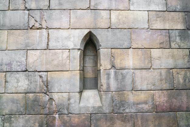 Metselwerk bruine architect antieke kasteel