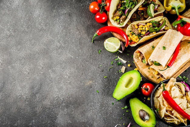 Mexicaans eten . cinco de mayo eten.