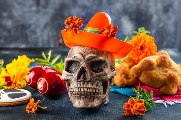 Mexicaanse dag van de dode decoratie