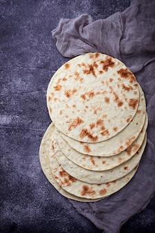 Mexicaanse maïstortilla's