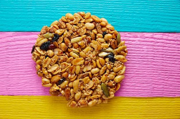 Mexicaanse snoep zoete palanqueta met pinda's