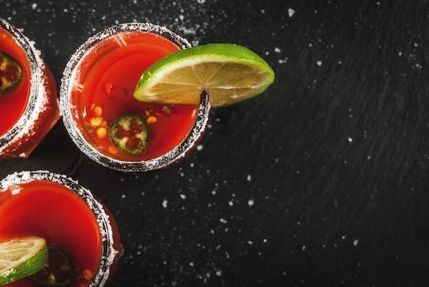 Mexicaanse traditionele drank sangrita