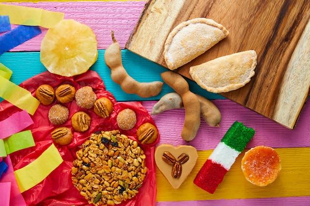 Mexicaanse zoetigheden en gebakjes cajeta tamarindo