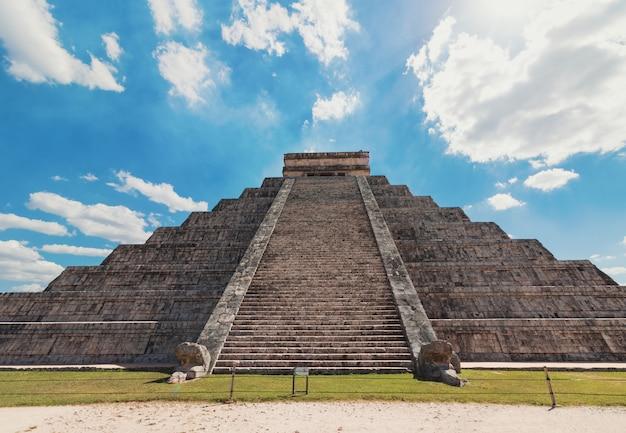 Mexico chichen itza maya-ruïnes