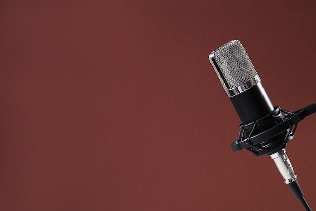 Microfoon geïsoleerd