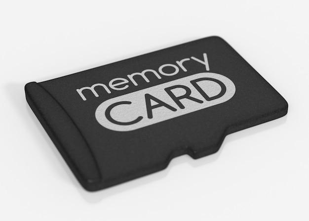Microsd-geheugenkaart.