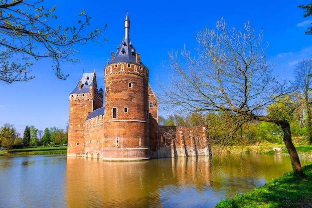 Middeleeuws kasteel beersel. belgie