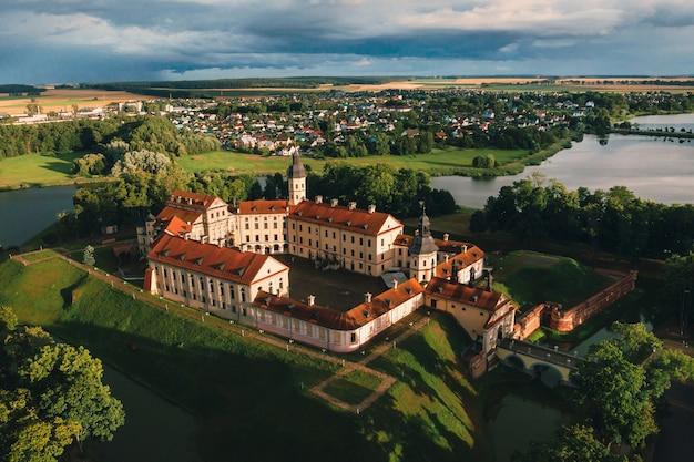 Middeleeuws kasteel in nesvizh