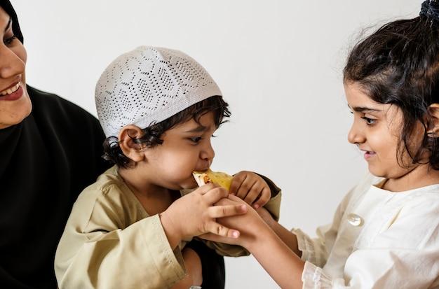 Midden-oosterse suhoor of iftar maaltijd