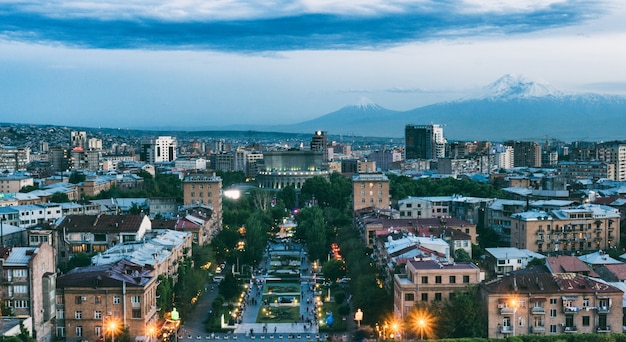 Middernacht yerevan - armenië