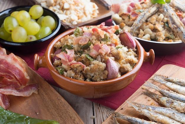 Migas traditioneel voedsel op spanje