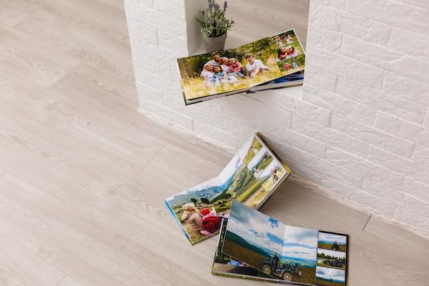 Mijn familie fotoboeken albums Premium Foto
