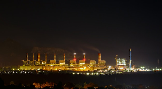 Mijn mae moh kolengestookte elektriciteitscentrale in thailand.