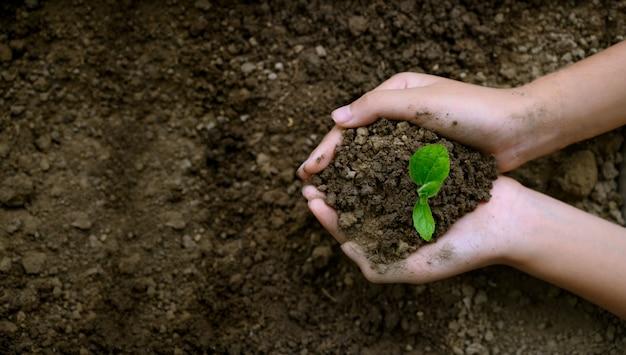Milieu dag van de aarde concept