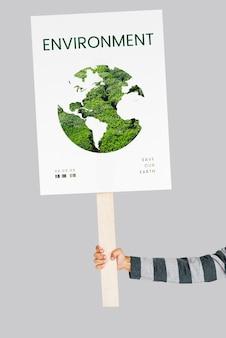 Milieu eco natuurlijk verantwoordelijkheid duurzaam