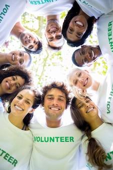Milieuactivisten vormen een kruising
