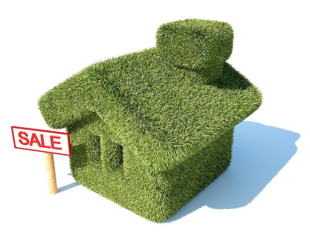 Milieuvriendelijk groen huis te koop