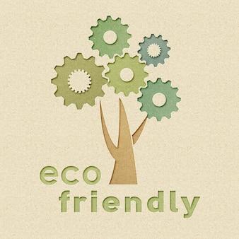 Milieuvriendelijk industrie- en milieubehoudconcept