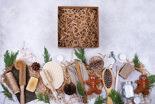 Milieuvriendelijke duurzame verzorgingsproducten zonder afval.