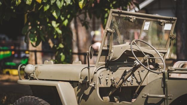 Militaire auto stuurwiel