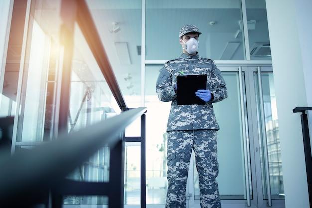 Militaire hulp in de strijd tegen het coronavirus.