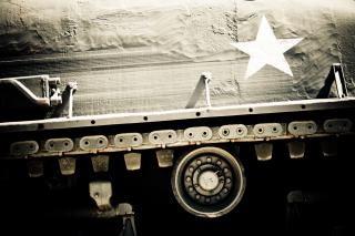 Militaire tankwagen