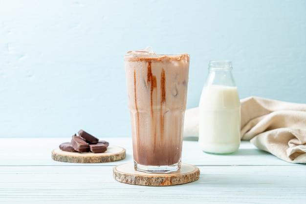 Milkshake drankje met chocolade