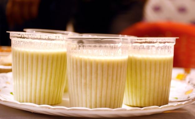 Milkshakes assorti zomer koude milkshakes