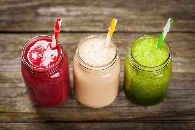 Milkshakes en smoothies