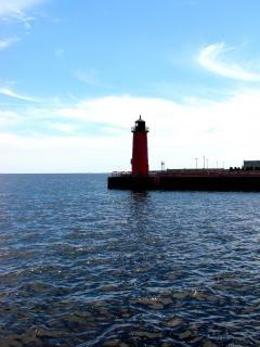 Milwaukee harborfront, milwaukee, baken