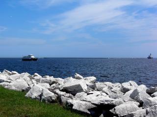 Milwaukee harborfront, milwaukee, vuurtoren