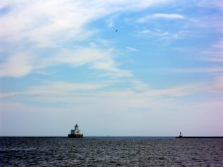 Milwaukee harborfront, vlucht